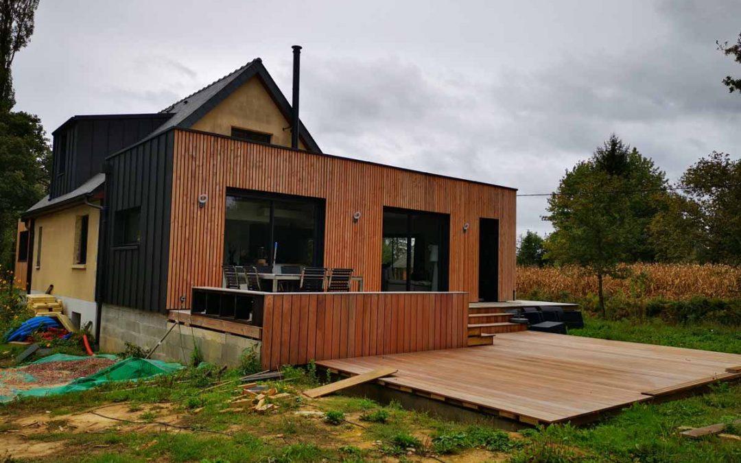 Maison véranda extension